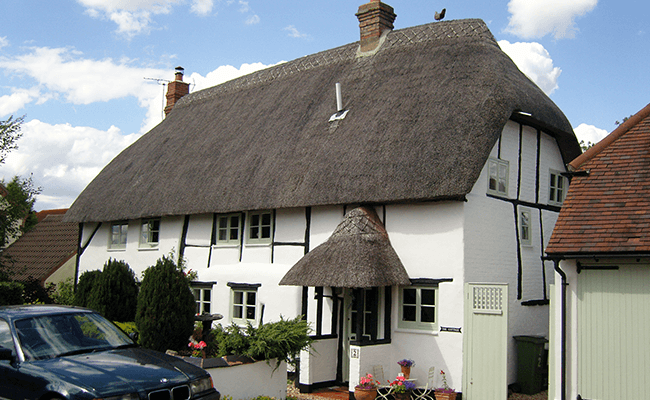 Thatched property, Hitchin